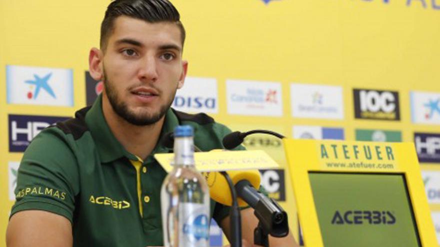 Rafa Mir se marcha de la UD Las Palmas sin haber gozado de la regularidad esperada en un principio