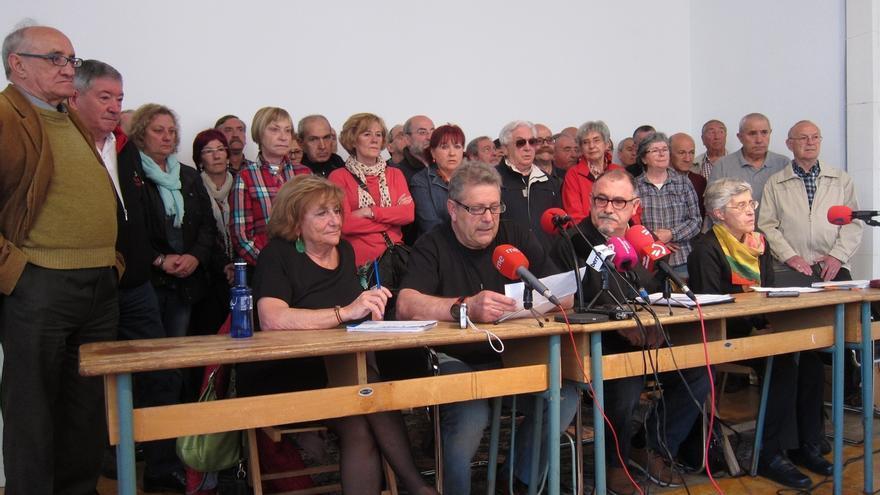 Sindicalistas en el franquismo apoyan la querella del Ayuntamiento de Pamplona contra los crímenes de la dictadura