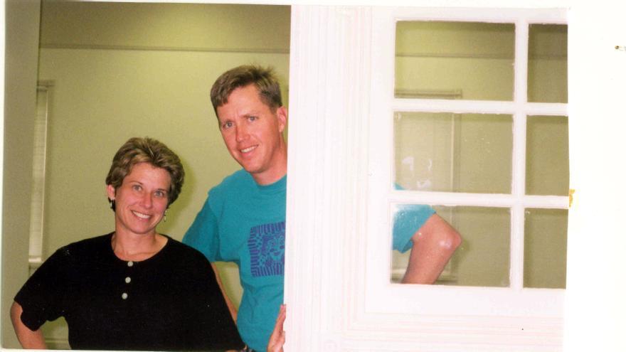 Donna Dubinsky y Jeff Hawkins, con el que lleva más de dos décadas trabajando