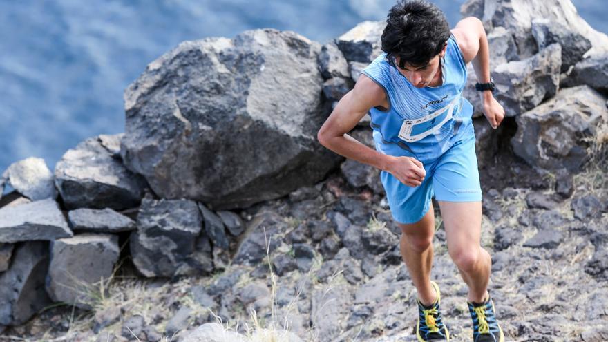 Saúl Padua, ganador del Kilómetro Vertical 2016.