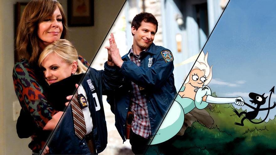 El bufón sinvergüenza como figura de gancho en las sitcoms americanas