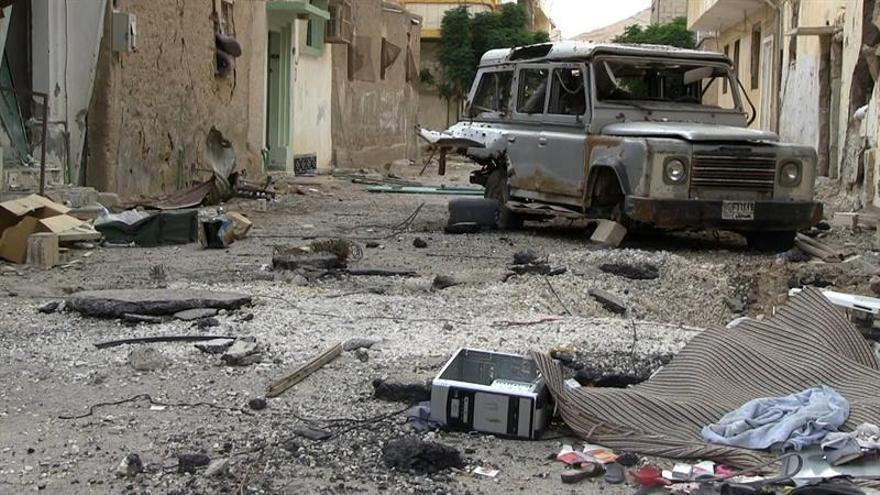 Mueren 15 efectivos gubernamentales sirios en un ataque del EI cerca de Palmira