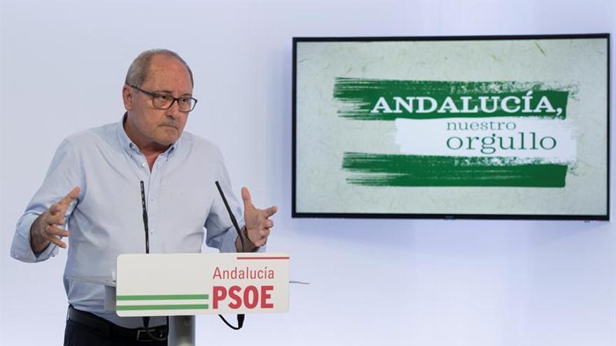 """El PSOE-A """"apoyará y respetará"""" el equipo que forme Pedro Sánchez"""