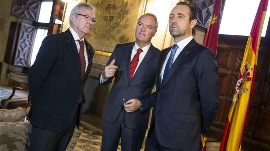 Fabra, Valcárcel y Bauzá piden que se reconozca su esfuerzo en financiación