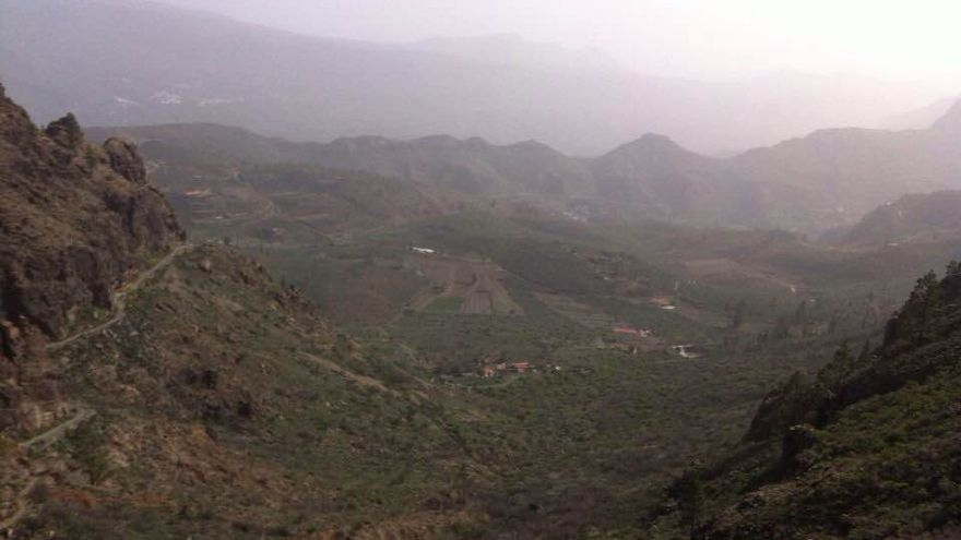Calima en la cumbre de Gran Canaria