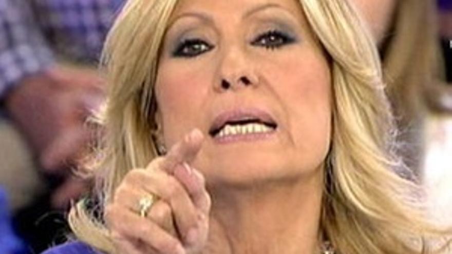 Rosa Benito reaparece en TV para competir contra el 'Deluxe'