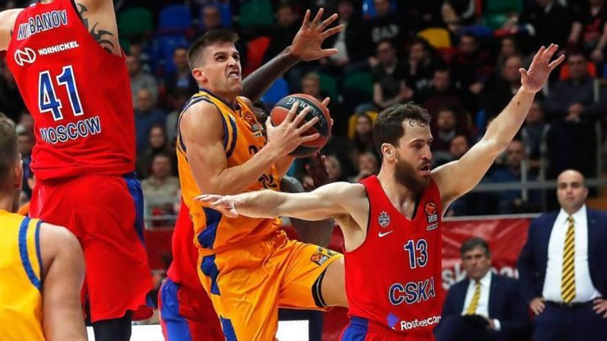 Encuentro entre el CSKA y el Herbalife.