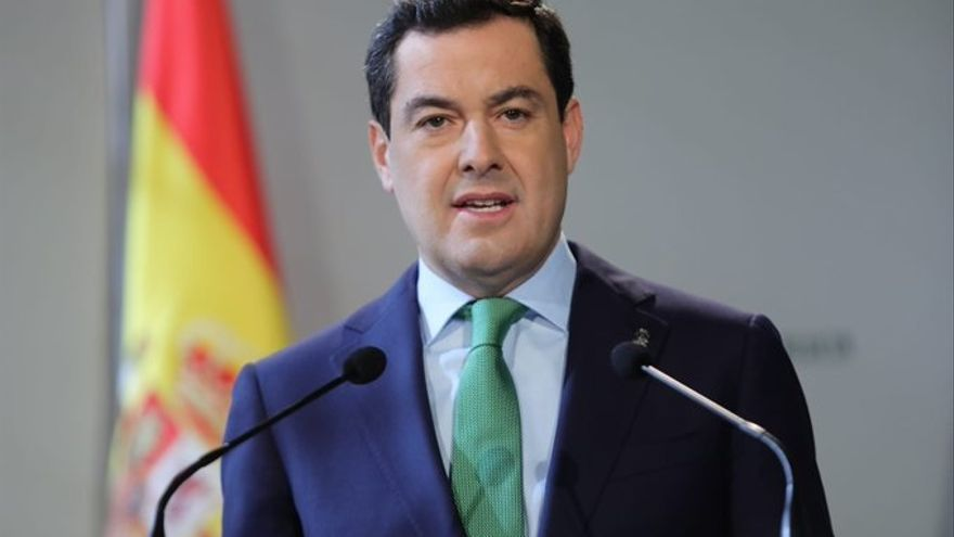 """Moreno dice que hoy es un """"día triste"""" para Andalucía y garantiza que """"la corrupción"""" se acabó en la Junta"""
