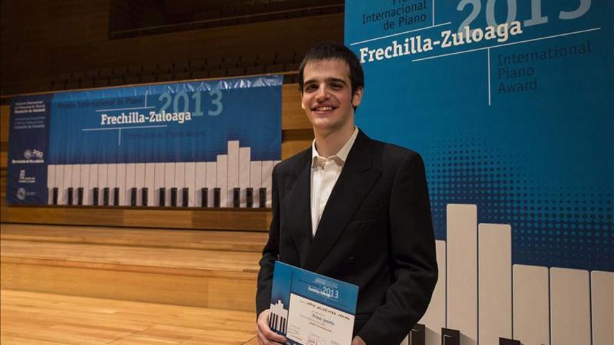 El pianista Carlos Goicoechea, vencedor del XI premio Frechilla-Zuloaga