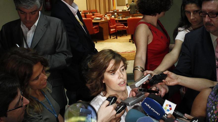 """El Gobierno exige al Parlament que no olvide que la soberanía nacional es de """"todos los españoles"""""""