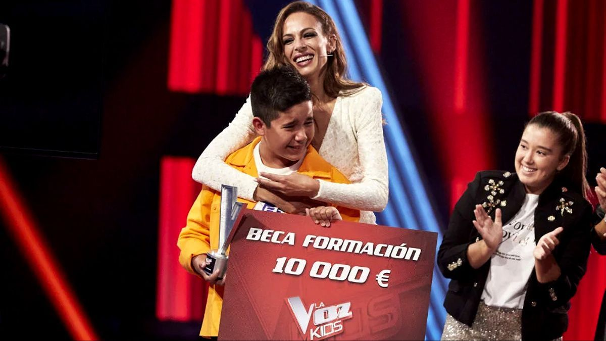 Levi, ganador de 'La Voz Kids'