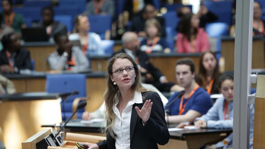 Sarah Harrison. Foto: Deutsche Welle