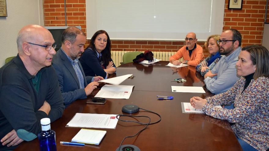 Miembros de la Sub-red universitaria de Comunidades de Aprendizaje de Castilla-La Mancha