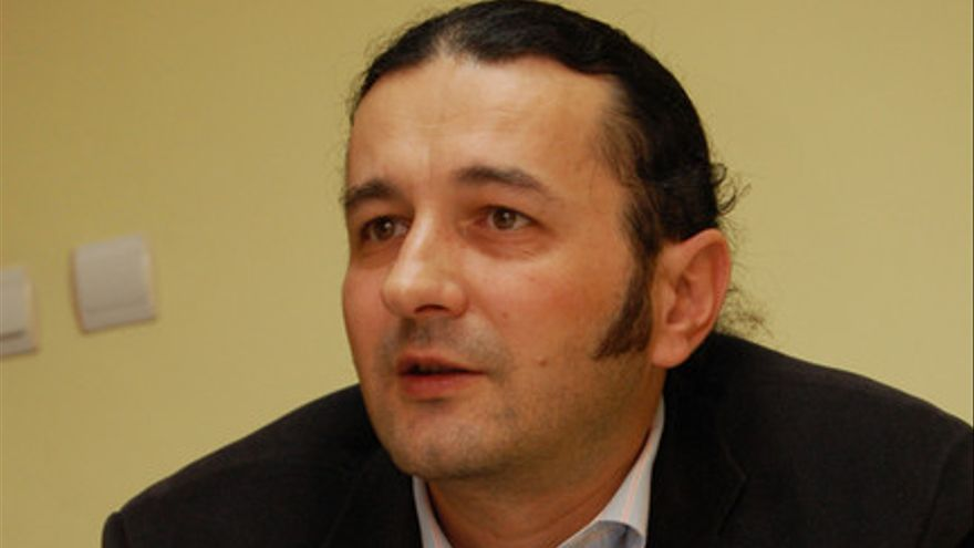 El poeta rumano Gelu Vlasin / Foto: rasunetul.ro