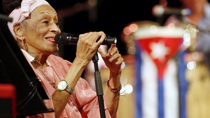 Omara Portuondo toca el cielo en su despedida del Festival de Jazz de Vitoria