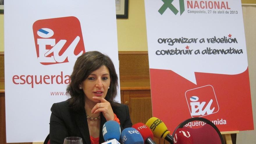 """Yolanda Díaz (EU): """"No comparto la decisión que tomó Tania Sánchez, aunque la entiendo"""""""