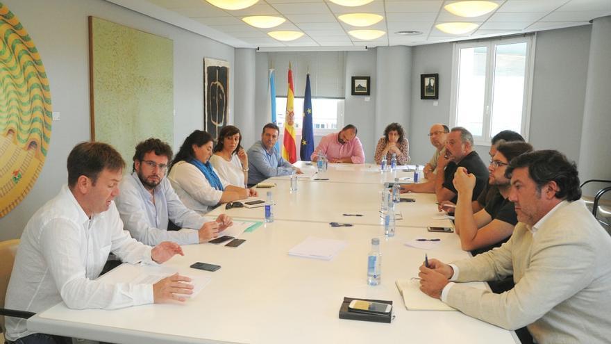 Encuentro institucional para tratar la devolución del Pazo de Meirás, convocado pola Diputación de A Coruña