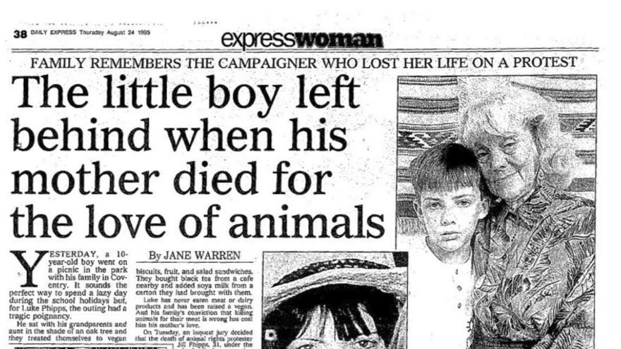 Daily Express 24 de agosto de 1995