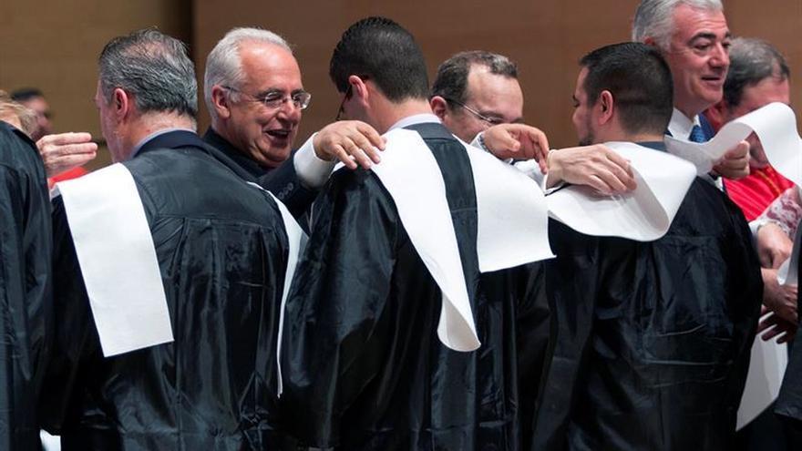 Graduados en Logroño 400 alumnos de la UNIR, procedentes de nueve países