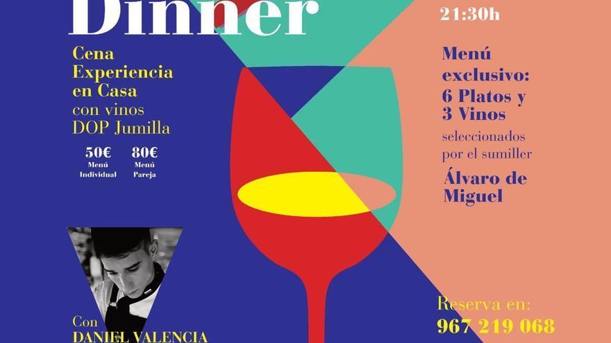 La DOP Jumilla lanza su primera actividad virtual en Castilla-La Mancha con cena y maridaje a domicilio