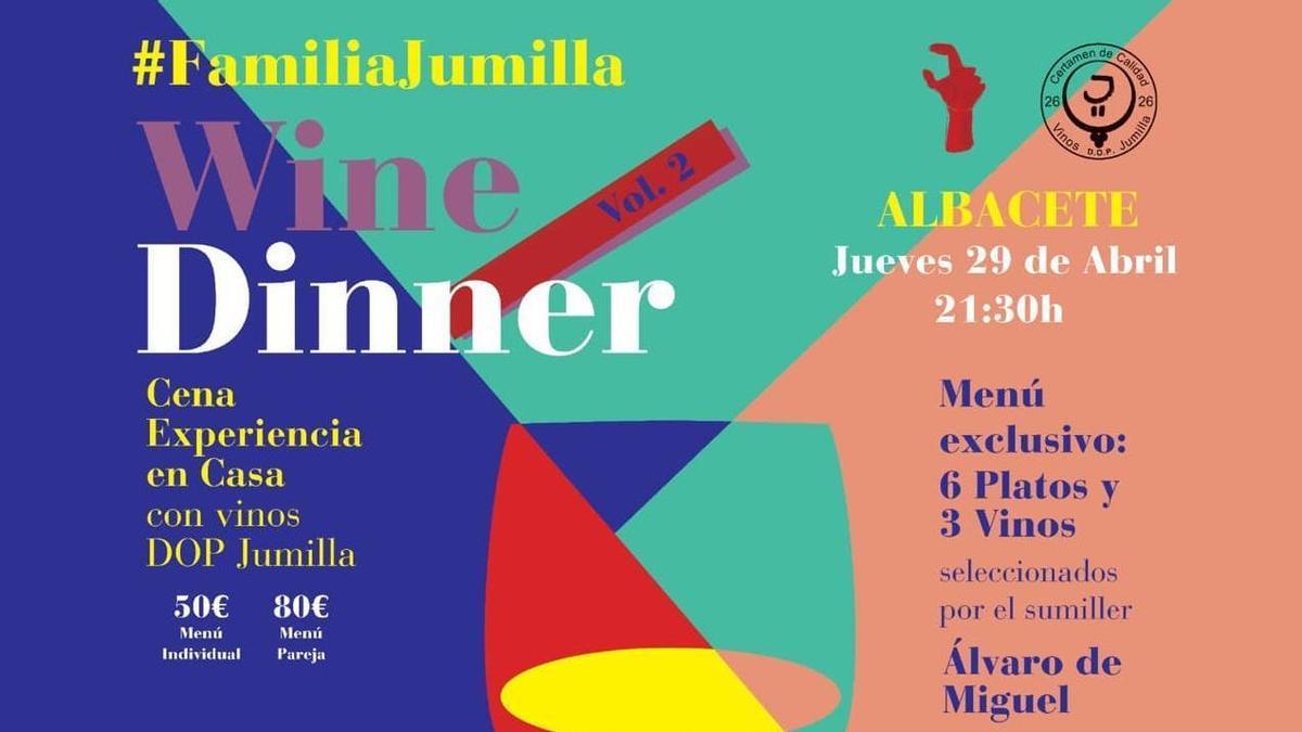 Cartel del evento que se realiza en Albacete