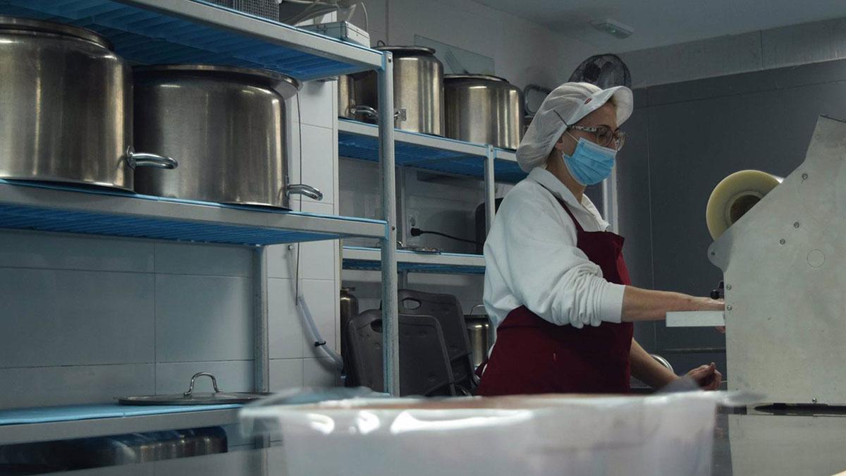 Cocina de Fepamic donde se elaborarán los menús.