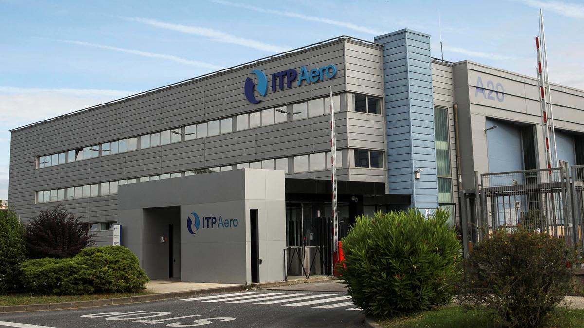 Imagen de archivo del fabricante aeronáutico vasco ITP Aero, con sede en la localidad vizcaína de Zamudio (en la imagen).