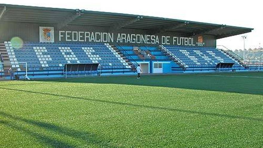 Estadio Pedro Sancho, en el que el Zaragoza CFF llevaba jugando 10 años