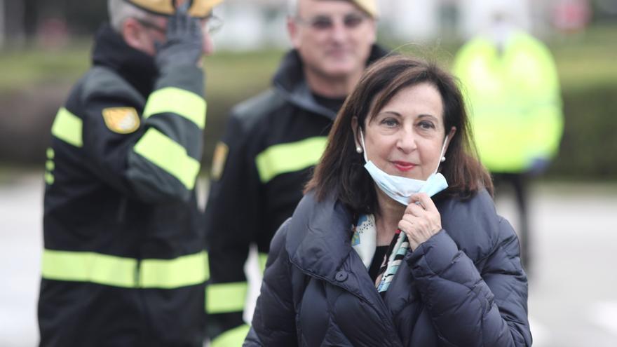 """Margarita Robles reconoce que la situación puede """"volver a reproducirse"""" en otoño y admite """"fallos"""""""