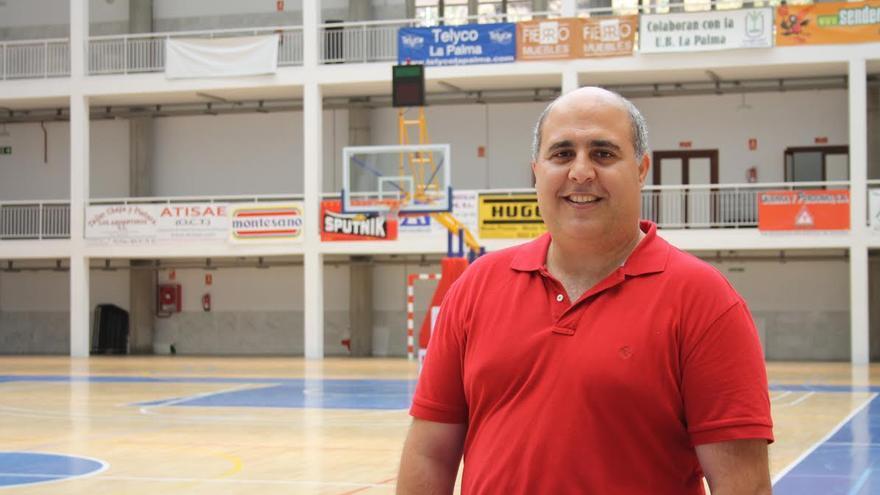 Manfred Calabuig, concejal de Deportes de Santa Cruz de La Palma.