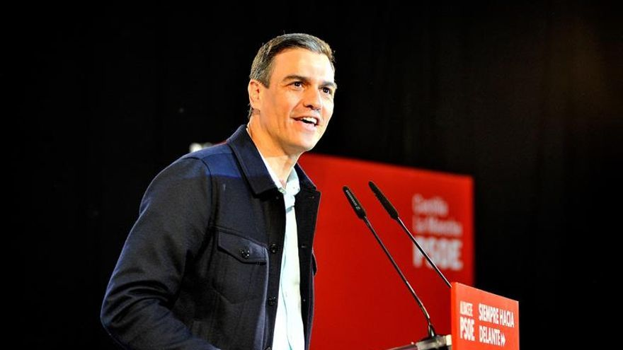"""Sánchez apela al """"voto coherente"""" para el 26M y avanzar en justicia social"""