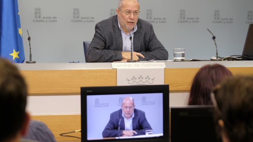 El vicepresidente de la Junta, Franciscto Igea.
