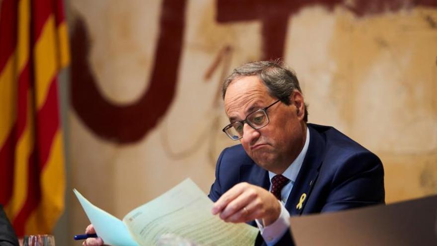 """Calvo responde a Torra que el rey no puede """"entrar directamente en política"""""""