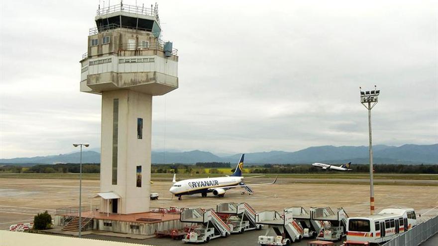 Convocan dos días de huelga de la seguridad en el aeropuerto de Girona