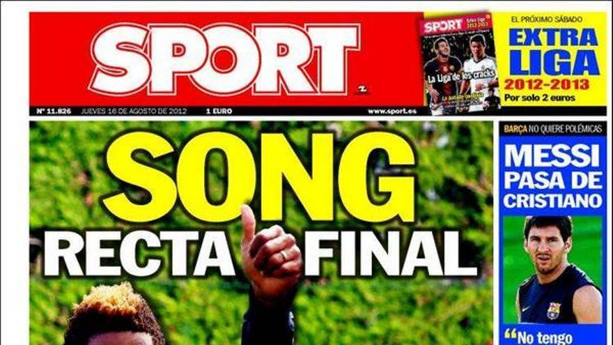 De las portadas del día (16/08/2012) #15