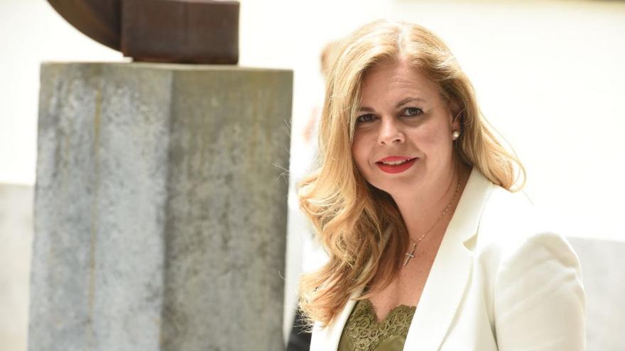 La jueza grancanaria Estela María Marrero Sánchez, miembro del Consejo Consultivo del Parlamento canario