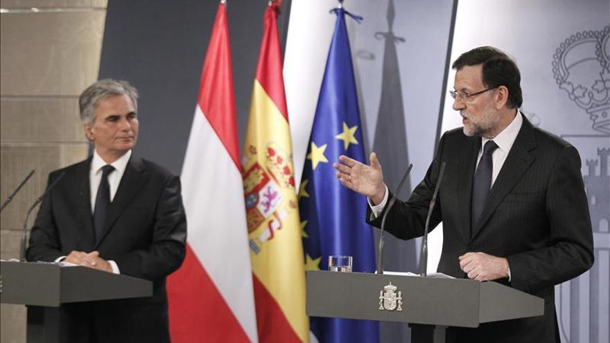 Rajoy logra el apoyo de Austria para usar ya el fondo de la UE contra el paro juvenil