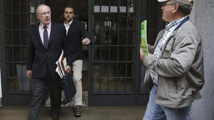 Rodrigo Rato entra a los Juzgados por el garaje para evitar altercados