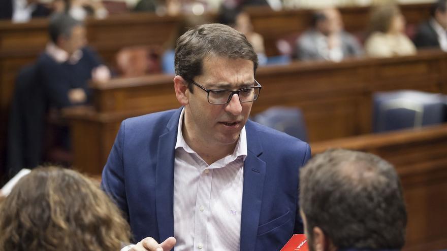 Iñaki Lavandera, portavoz del Grupo Parlamentario Socialista. (EUROPA PRESS)