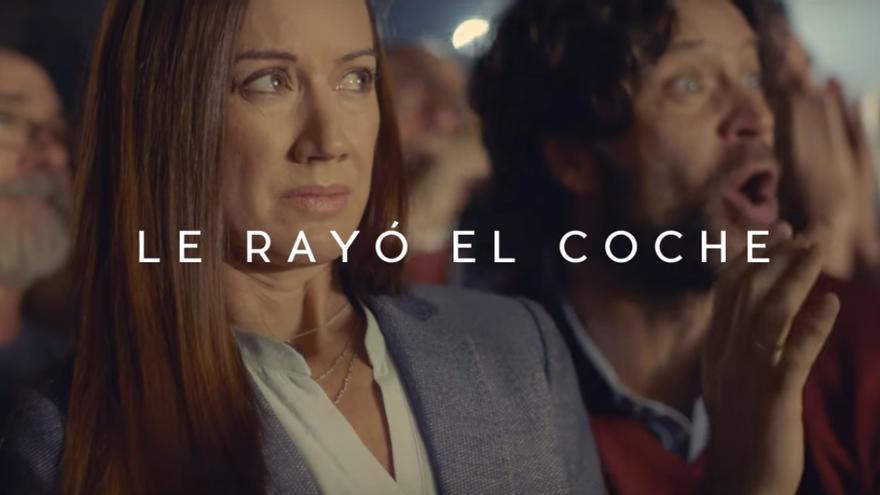 Una imagen del anuncio de Bankia