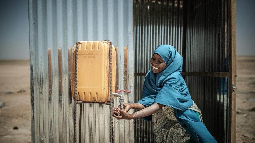 Aisha Mahamat es una de las promotoras de salud comunitaria de Docoloha. Foto: Pablo Tosco / Oxfam Intermón
