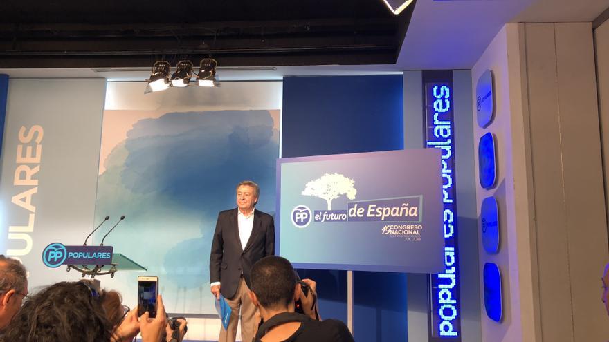 Luis de Grandes, presidente de la Comisión Organizadora del congreso del PP.