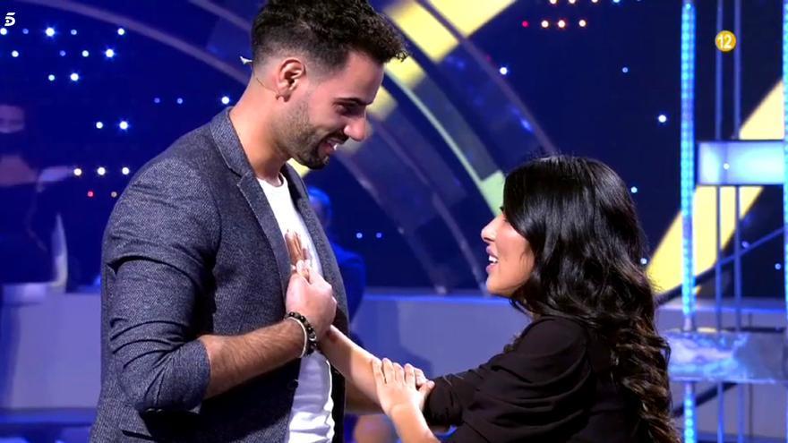 Asraf Beno e Isa Pantoja en 'Volverte a ver'