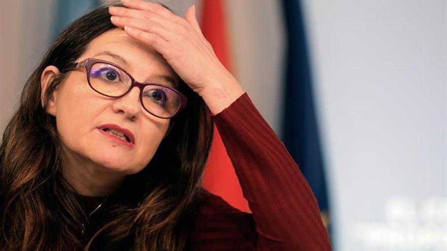 Oltra dice que el último del PP que la denunció está en la cárcel por ladrón