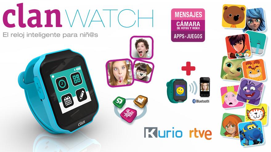 Clan Watch, uno de los productos que anunció TVE