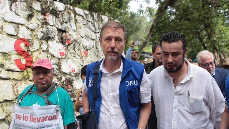 La ONU aplaude la fuerza de los padres de Iguala y se suma al clamor de justicia