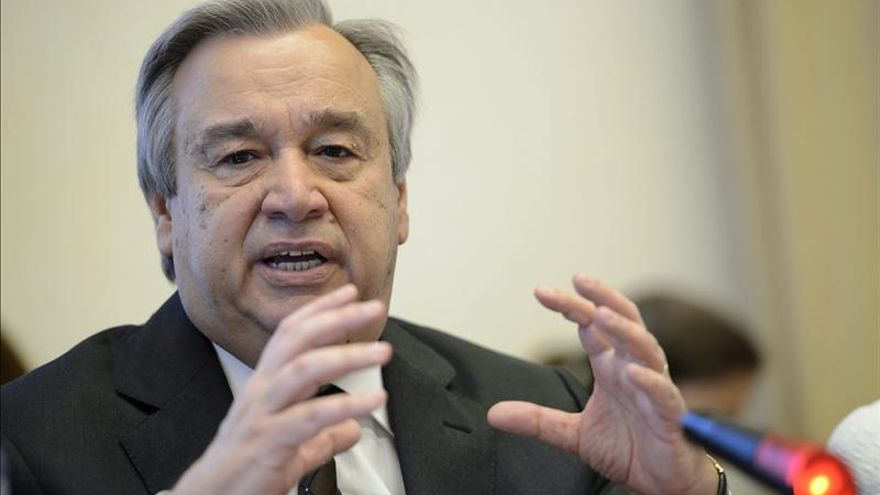 """Guterres insta a países """"influyentes"""" a buscar solución política para Siria"""