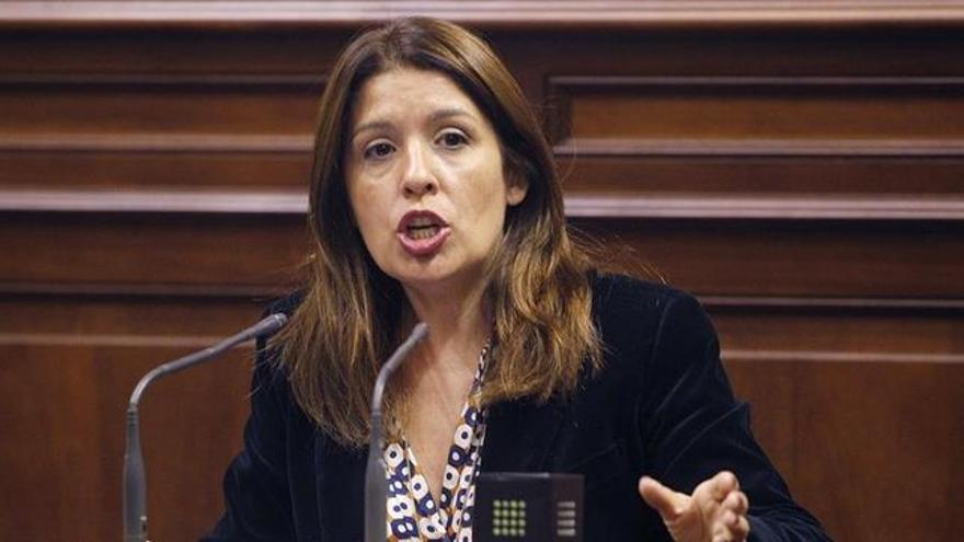 Carmen Hernández, presidenta de Nueva Canarias Telde