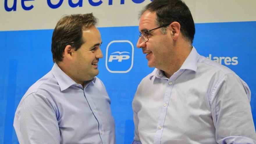 Paco Núñez (izquierda) y Benjamín Prieto (derecha)