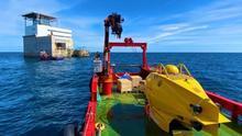 Ictineu 3 desnuda el talud donde se prueba lo último en tecnología marina